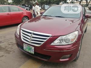 Hyundai Genesis 2008 Red   Cars for sale in Lagos State, Ikeja