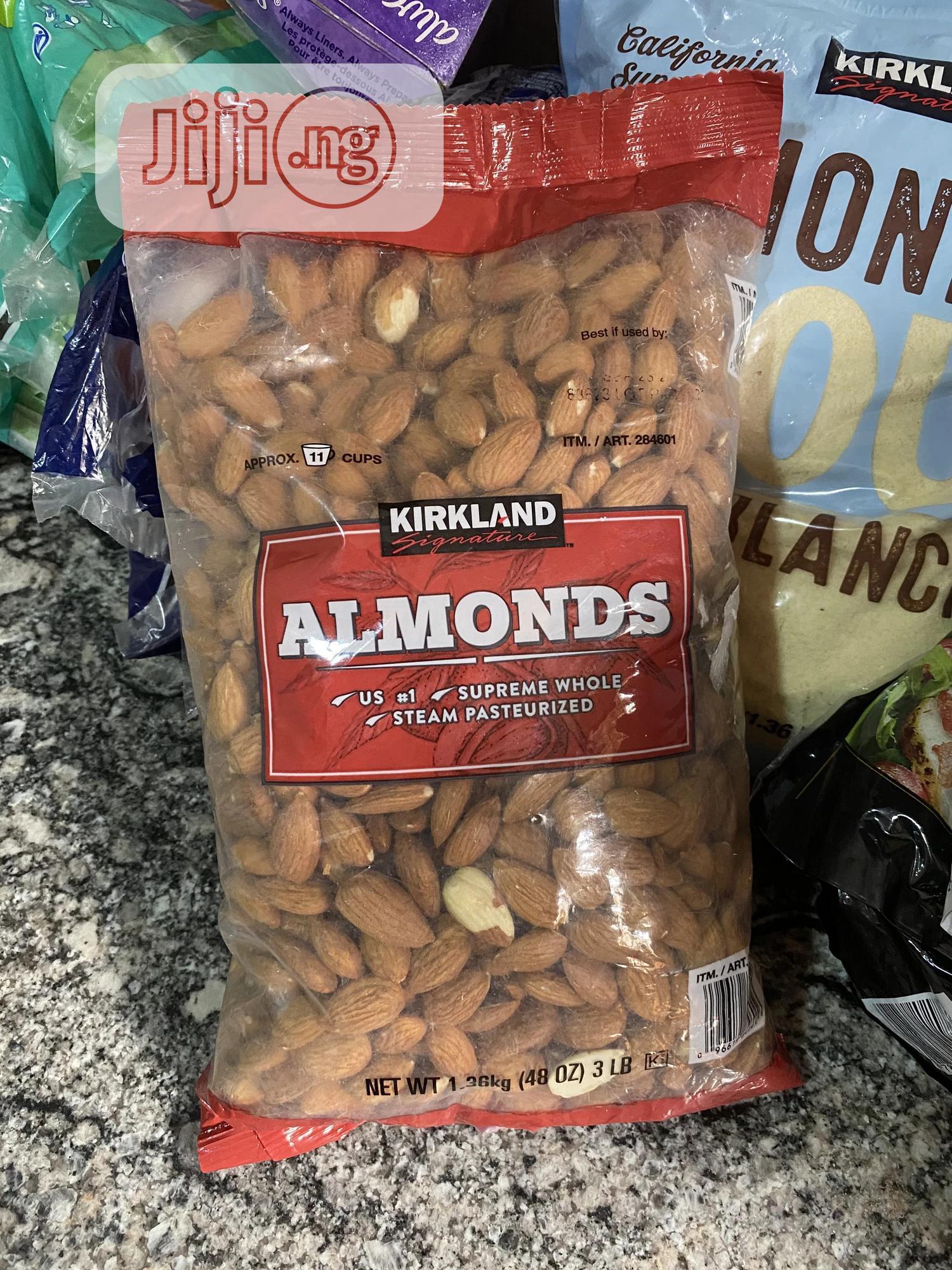 Archive: Kirkland Signature Nuts, Almonds, 48 Ounce / 3lb/ 1.36kg
