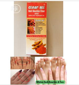 Clear All Dark Knuckles and Dark Spot Remover Oil | Skin Care for sale in Lagos State, Ojo