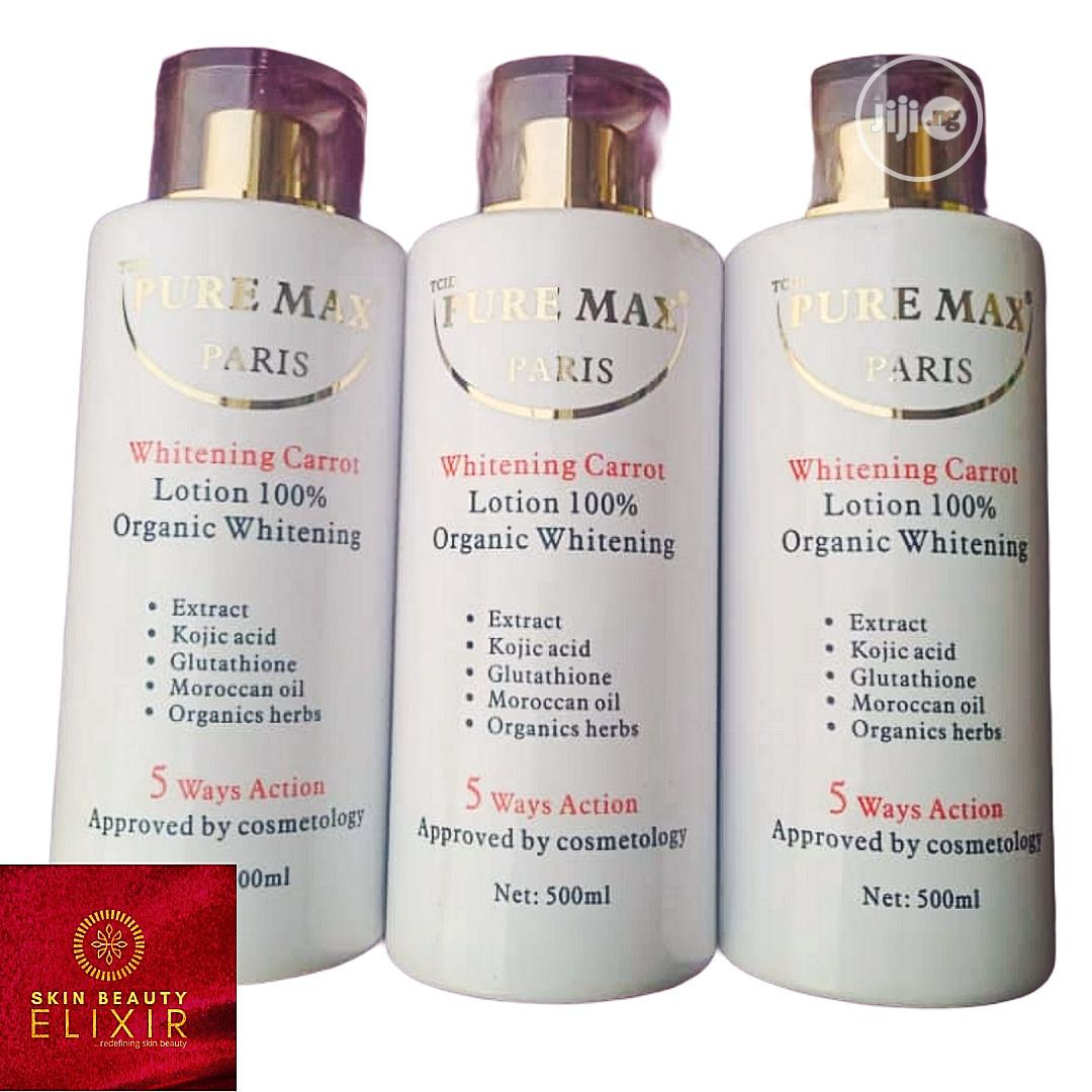 Archive: Pure Max Organic Whitening Lotion
