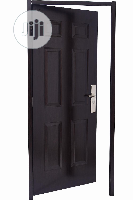 900*2100 Steel Wooden Door