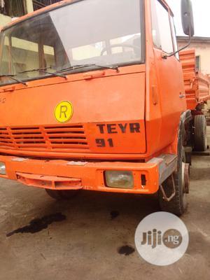 Steyr Tipper Truck 2004 Orange | Trucks & Trailers for sale in Lagos State, Alimosho