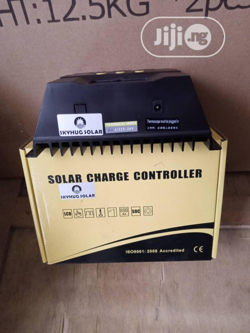 60ah 12 to 48v Solar Charger Controller | Solar Energy for sale in Ojo, Lagos State, Nigeria