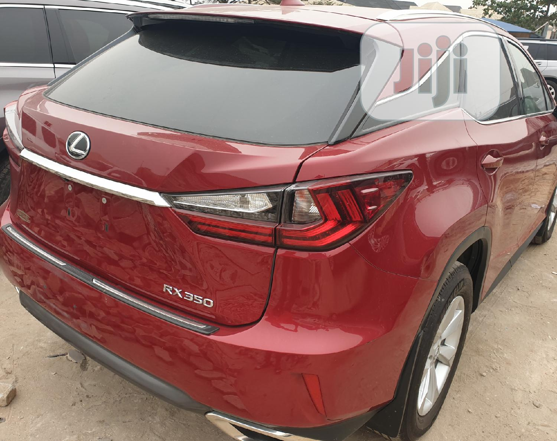 Lexus RX 2018 350 AWD Red   Cars for sale in Amuwo-Odofin, Lagos State, Nigeria