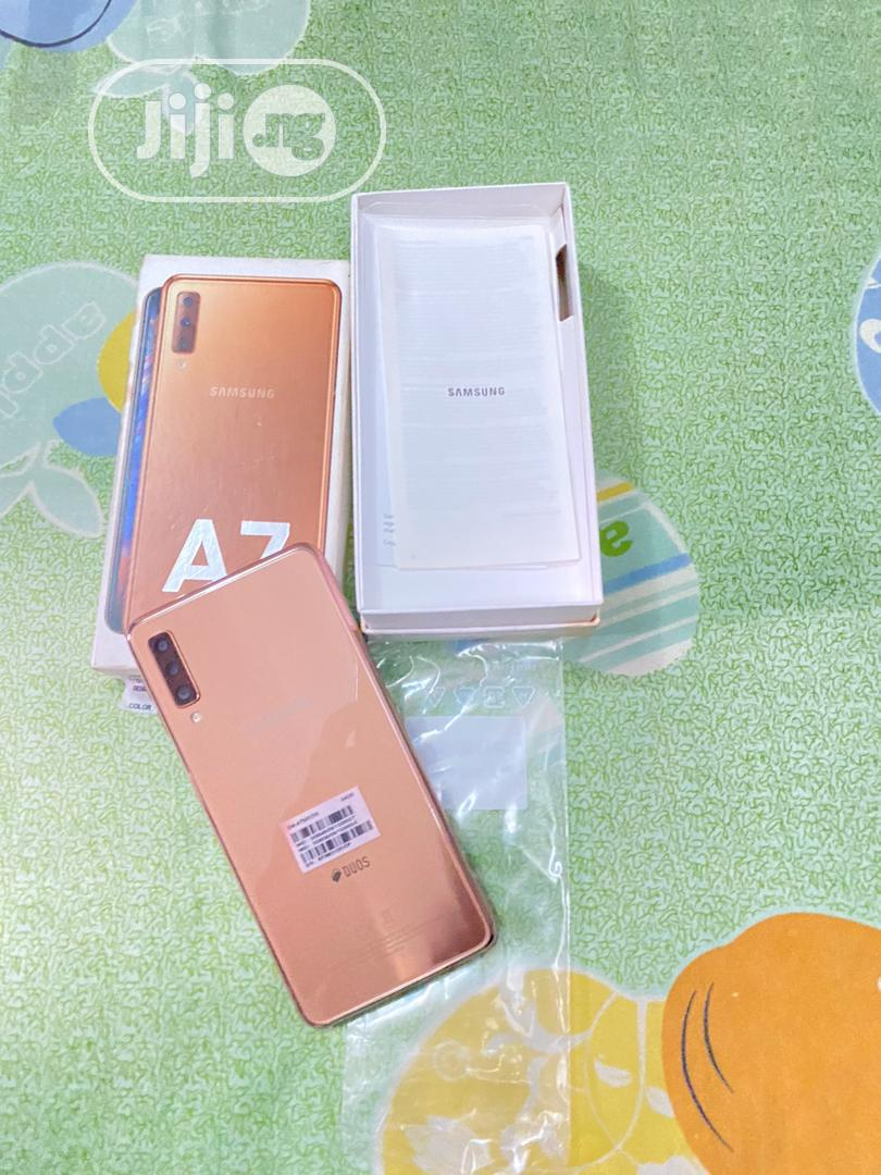 Samsung Galaxy A7 64 GB Gold | Mobile Phones for sale in Surulere, Lagos State, Nigeria
