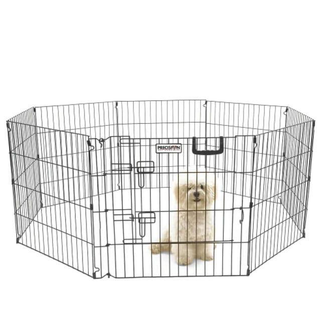 Precision Pet Silver Choice Play Yard