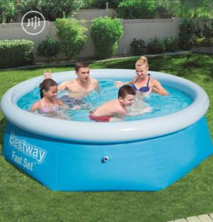 Bestway Fast Set Pool 2.44m X 66cm - Blue   Sports Equipment for sale in Lagos State, Abule Egba