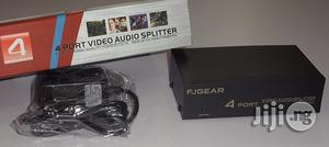 Original 4 Port Audio Video Splitter With 6 Months Warranty | Accessories & Supplies for Electronics for sale in Lagos State, Ikeja
