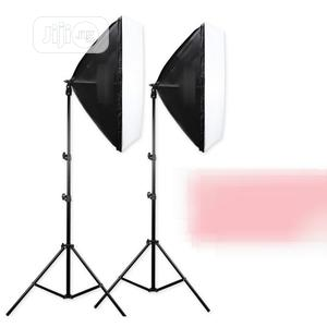 2pcs of Photo Studio Box Lighting Kit for Pictures Video | Accessories & Supplies for Electronics for sale in Lagos State, Ikoyi