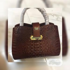Prada Brown Handbag | Bags for sale in Lagos State, Ojo
