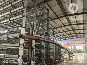 H Type 8 Tiers Poultry Cage Automatic China Poultry Cage | Farm Machinery & Equipment for sale in Yobe State, Potiskum