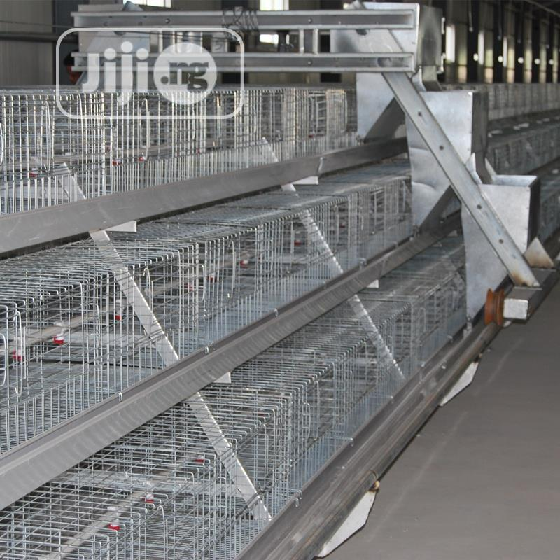 Poultry Cage China Automatic Poultry Cage | Farm Machinery & Equipment for sale in Jalingo, Taraba State, Nigeria