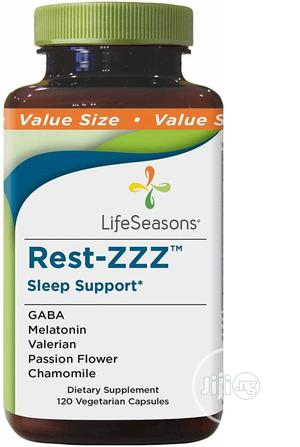 Life Seasons Rest-Zzz 60 Capsules(Sleep Support Aids Restles | Vitamins & Supplements for sale in Lagos State, Amuwo-Odofin