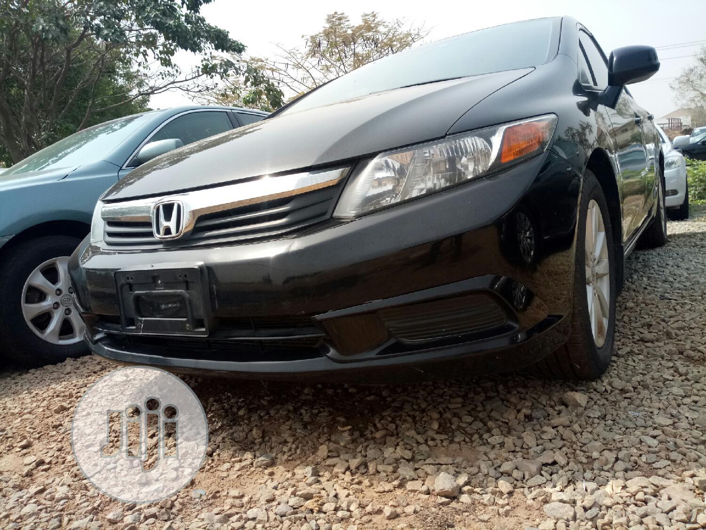 Honda Civic 2012 EX-L Sedan Black