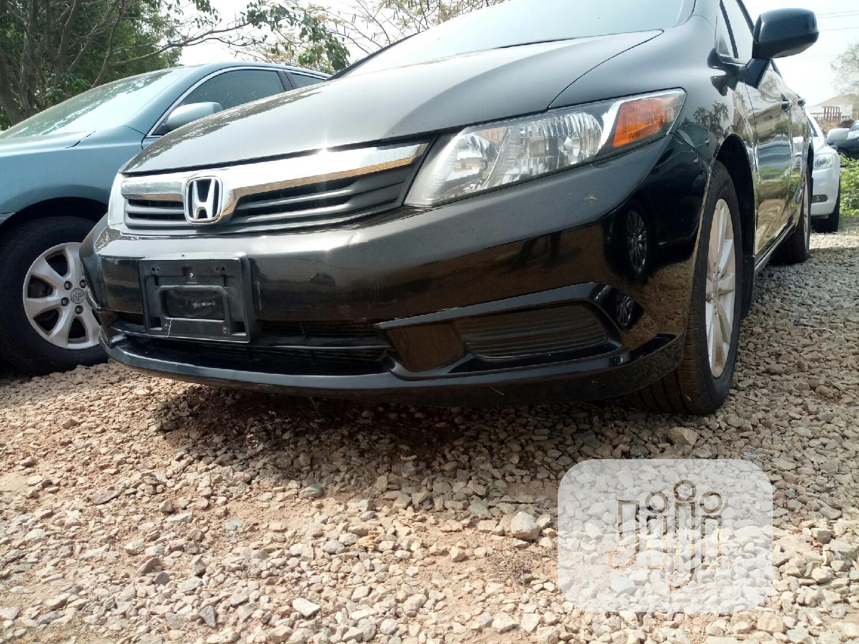 Honda Civic 2012 EX-L Sedan Black | Cars for sale in Galadimawa, Abuja (FCT) State, Nigeria
