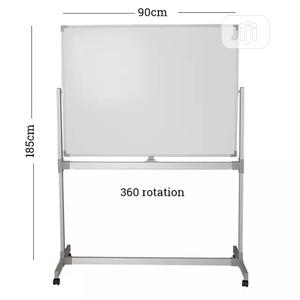 Executive Teaching Double Sided White Magnetic Board | Stationery for sale in Abuja (FCT) State, Wuse