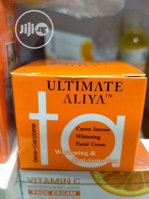 Ultimate Aliya Carrot Intense Whitening Face Cream - 50g.   Skin Care for sale in Lagos State, Amuwo-Odofin