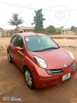 Nissan Micra 2005 Acenta 1.4 Red | Cars for sale in Lagos State, Ipaja