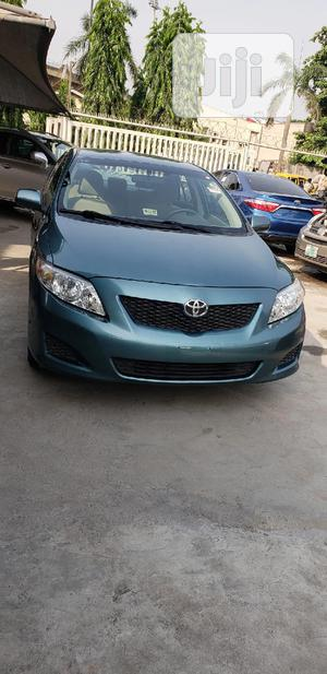 Toyota Corolla 2009 1.8 Exclusive Automatic Green   Cars for sale in Lagos State, Surulere