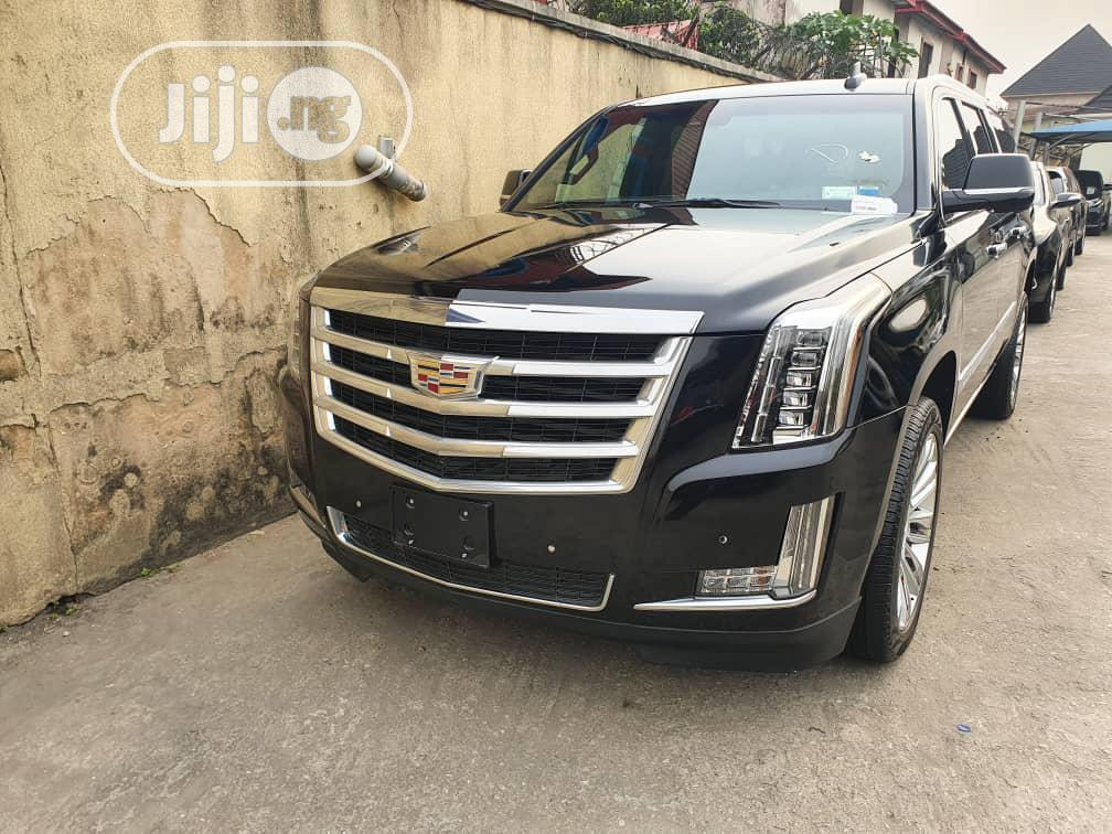 Cadillac Escalade 2016 Black