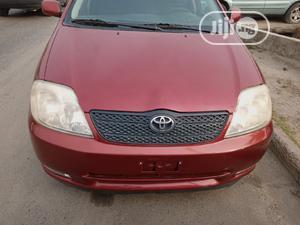 Toyota Corolla 2003 Sedan Automatic Red | Cars for sale in Lagos State, Amuwo-Odofin