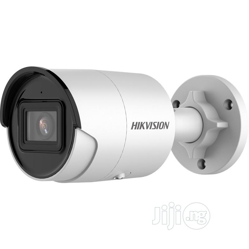 Hikvision DS-2CD2046G2-I Acusense 4MP Bullet Network Camera   Security & Surveillance for sale in Ikeja, Lagos State, Nigeria
