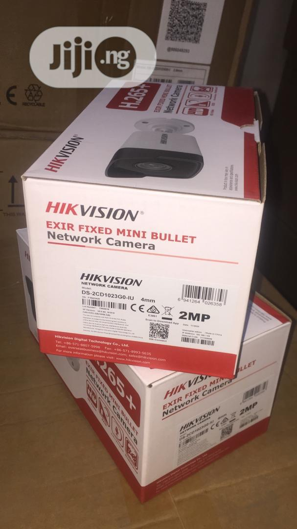 Hikvision DS-2CD1023G0-IU 2MP Network Bullet Camera With Mic