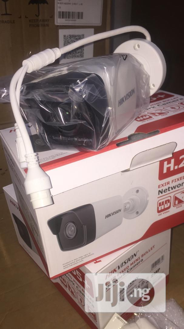 Hikvision DS-2CD1023G0-IU 2MP Network Bullet Camera With Mic | Security & Surveillance for sale in Ikeja, Lagos State, Nigeria