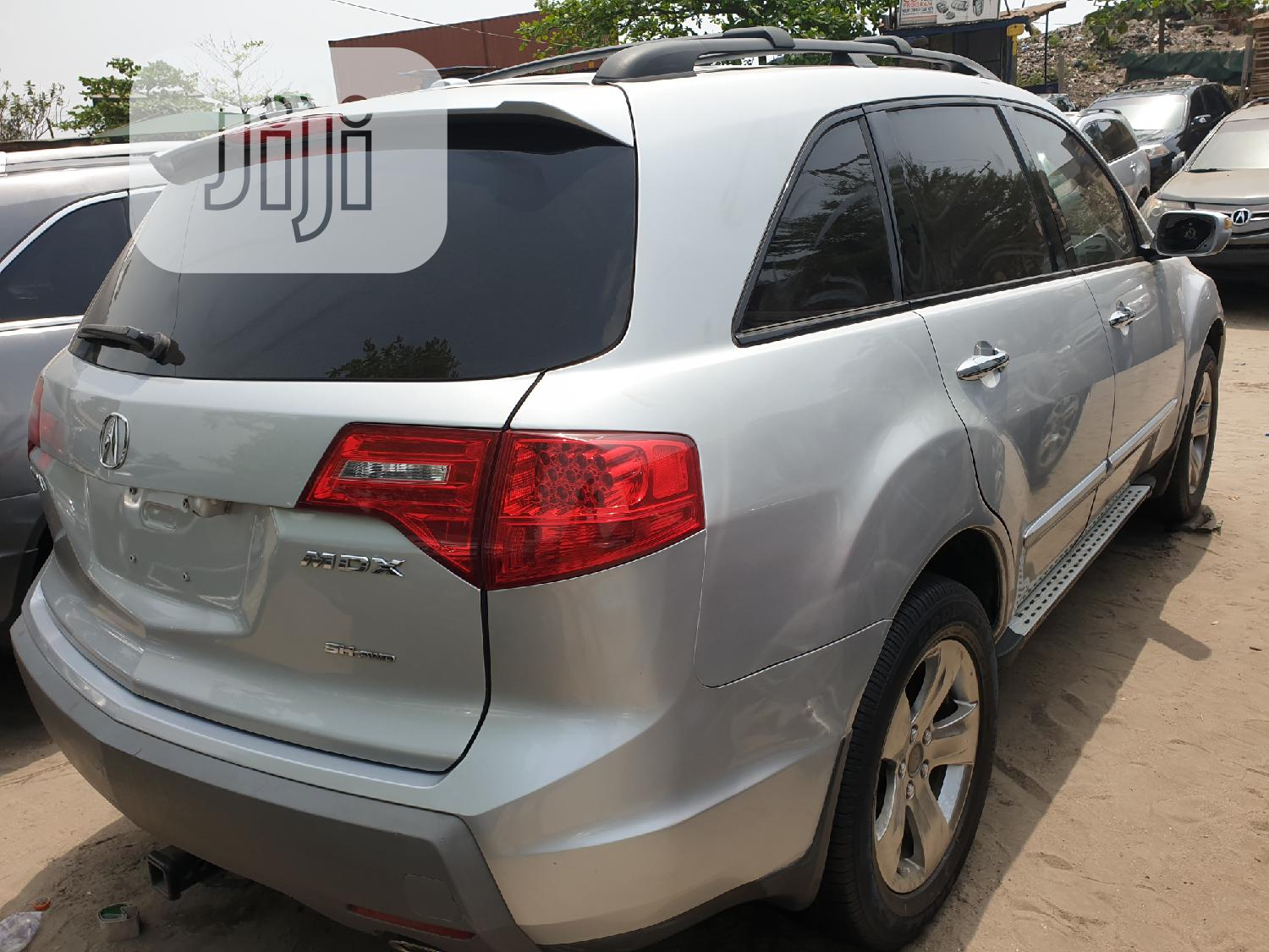 Acura MDX 2008 SUV 4dr AWD (3.7 6cyl 5A) Silver | Cars for sale in Apapa, Lagos State, Nigeria