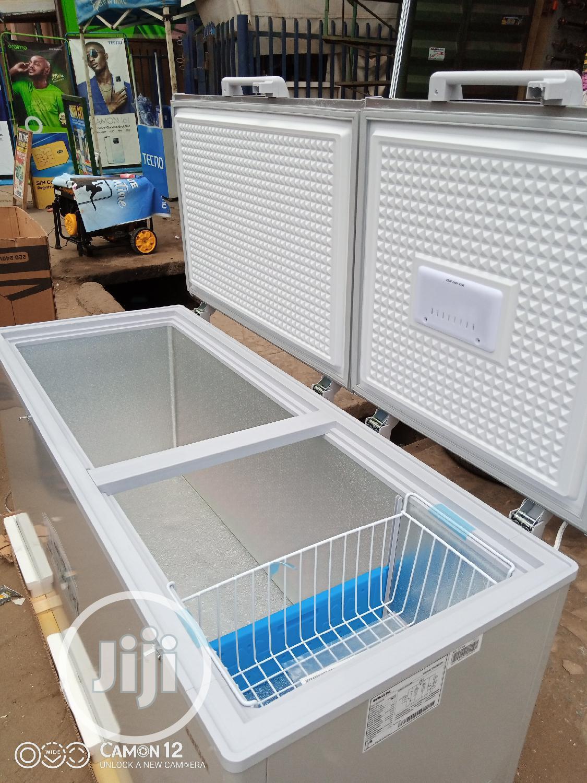 Brhum Double Door Chest Freezer Bcd 500 M