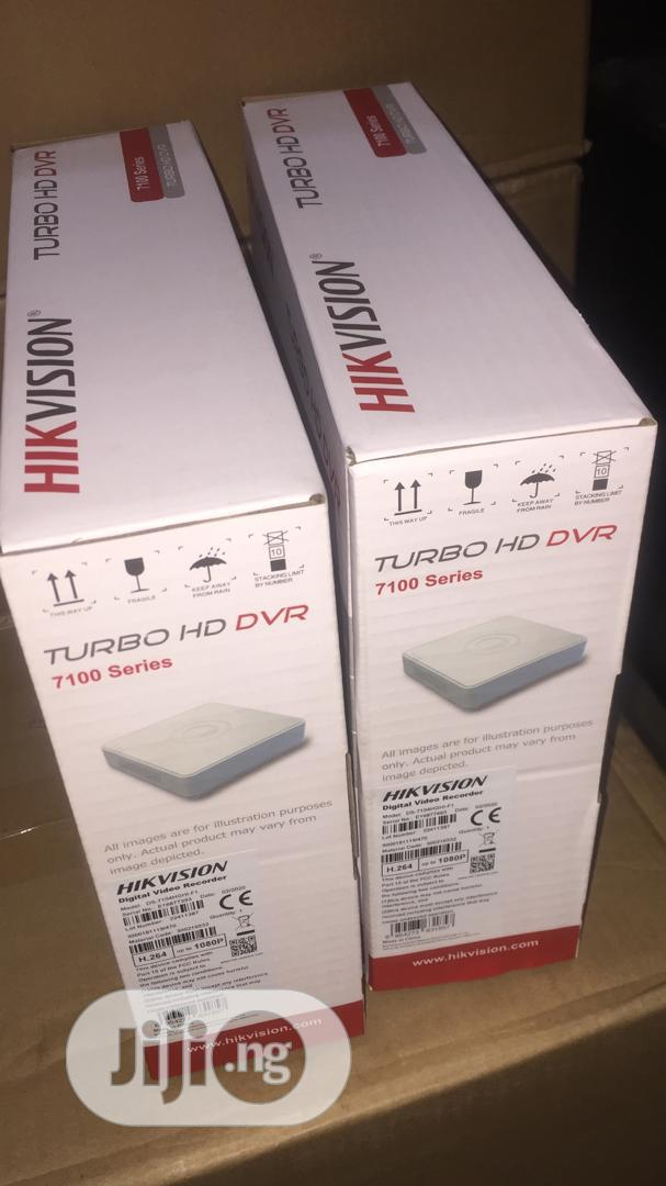 Hikvision Turbo HD DVR Ds-7104hghi-F1 | Security & Surveillance for sale in Ikeja, Lagos State, Nigeria