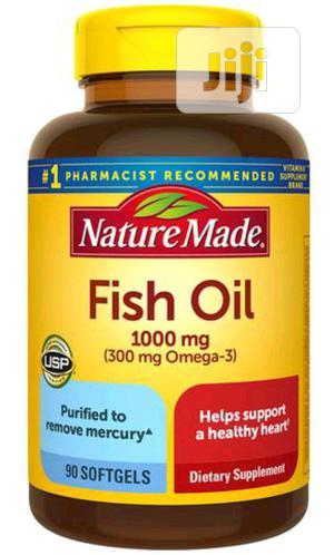 Nature Made Fish Oil 1000mg X 90   Vitamins & Supplements for sale in Lagos State, Surulere
