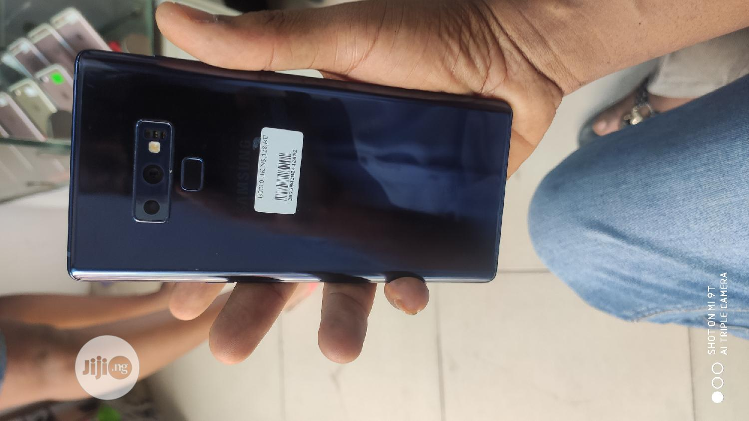Samsung Galaxy Note 9 128 GB Blue | Mobile Phones for sale in Ikeja, Lagos State, Nigeria