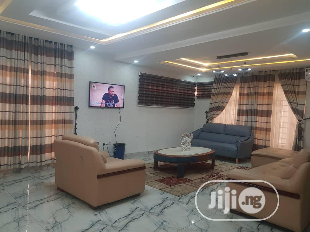 Furnished 5bedroom Executive Semi Detached Duplex With Swimm