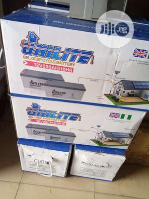Unilite Solar Battery 12v 200ah | Solar Energy for sale in Lagos State, Ojo