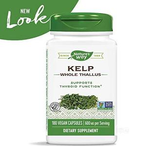 Original Natures Way Kelp Thyroid Support | Vitamins & Supplements for sale in Lagos State, Ikoyi