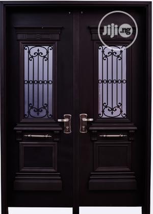 Dav002 Isreali Security Door With Glass   Doors for sale in Delta State, Warri