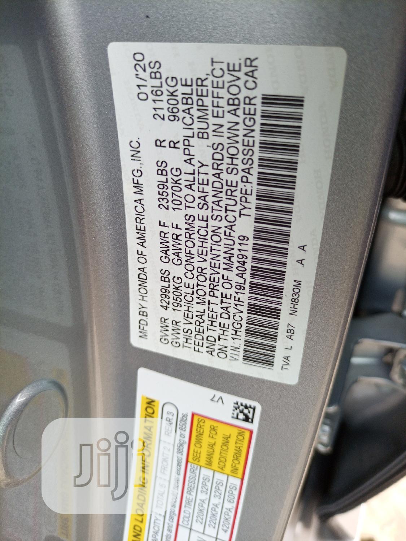 Archive: Honda Accord 2020 EX-L 1.5T Blue