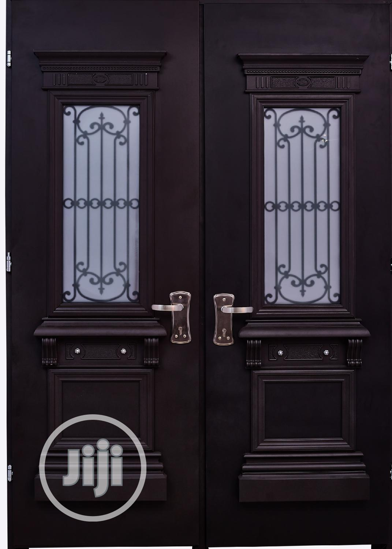 Dav002 Isreali Security Door With Glass   Doors for sale in Warri, Delta State, Nigeria
