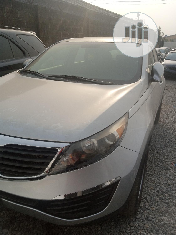 Kia Sportage 2012 Silver | Cars for sale in Ikeja, Lagos State, Nigeria
