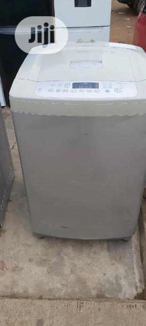 LG 10kg Toploader Automatic Washing Machine   Home Appliances for sale in Lagos State, Ikorodu