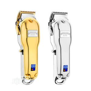 Wmark Quality Gold Rechargeable Clipper With LED Display | Tools & Accessories for sale in Lagos State, Lagos Island (Eko)