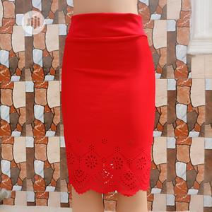 Red Short Skirt   Clothing for sale in Delta State, Ugheli
