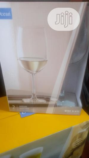 2pcs Wine Glass Cup | Kitchen & Dining for sale in Lagos State, Lagos Island (Eko)
