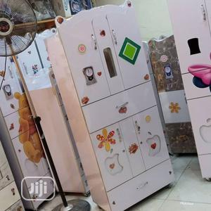 White Baby Wardrobe | Children's Furniture for sale in Lagos State, Ikorodu