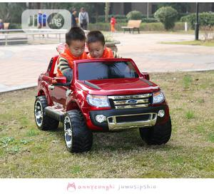 Ford Ranger Wildtrak 12V Kids Ride on Jeep Remote Control | Toys for sale in Lagos State, Abule Egba