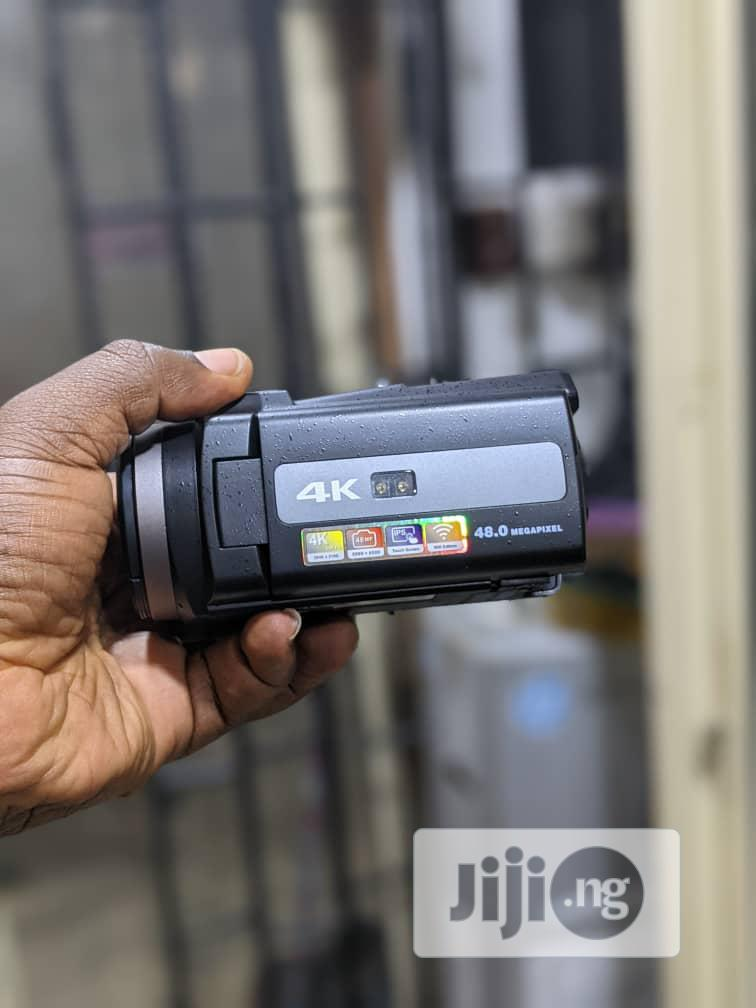 HD Camcorder With 4K Display and Wifi | Photo & Video Cameras for sale in Ikeja, Lagos State, Nigeria