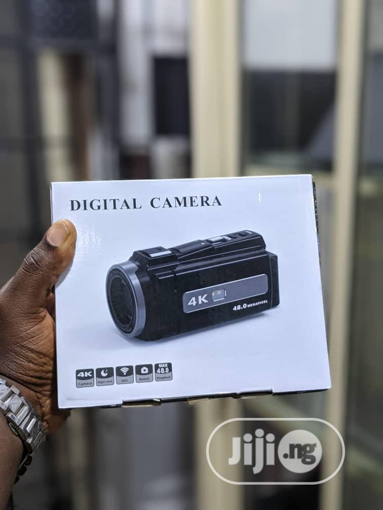 HD Camcorder With 4K Display and Wifi