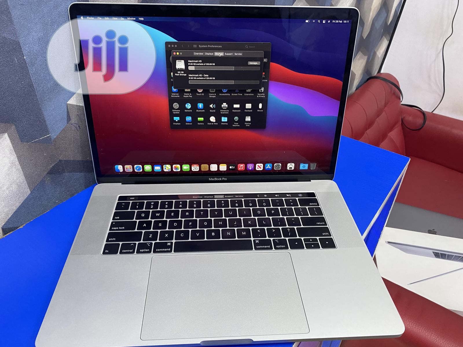 Laptop Apple MacBook Pro 2019 16GB Intel Core I7 SSD 256GB | Laptops & Computers for sale in Ikeja, Lagos State, Nigeria