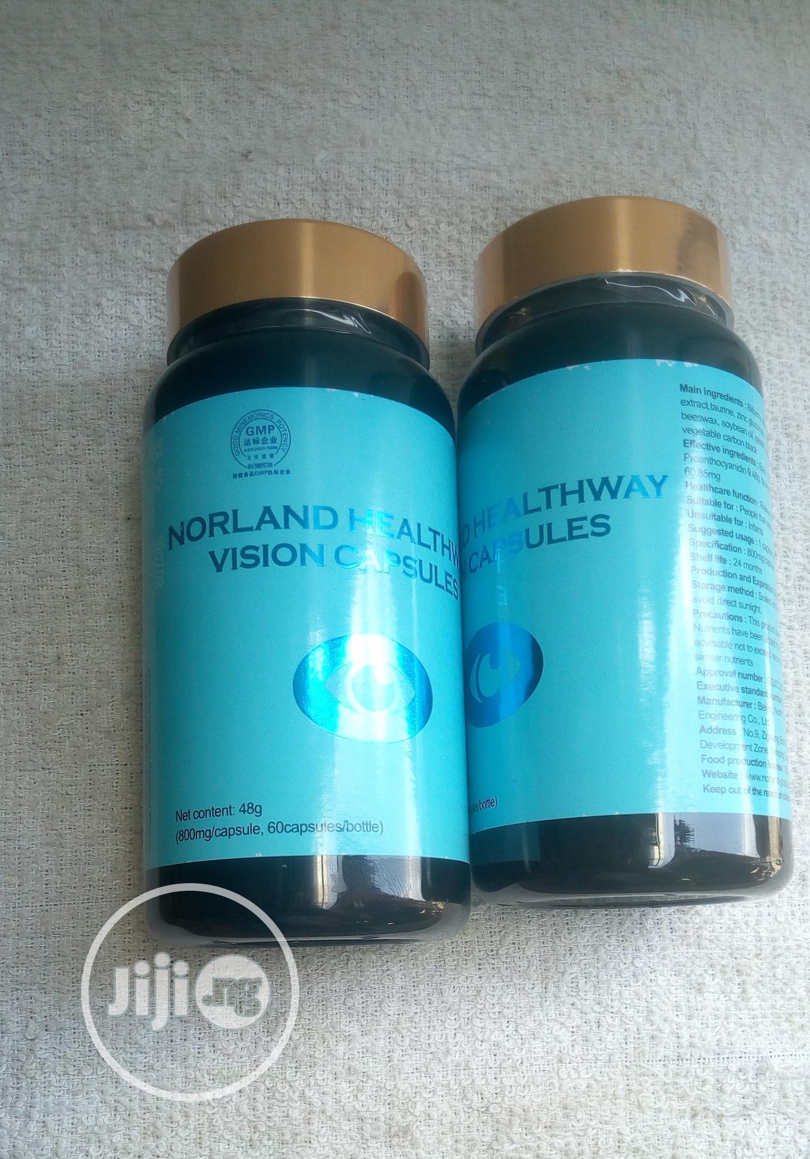 Vision Vitale Capsule. Norland Eye Capsule (Buy 2 Get 1 Free | Vitamins & Supplements for sale in Surulere, Lagos State, Nigeria